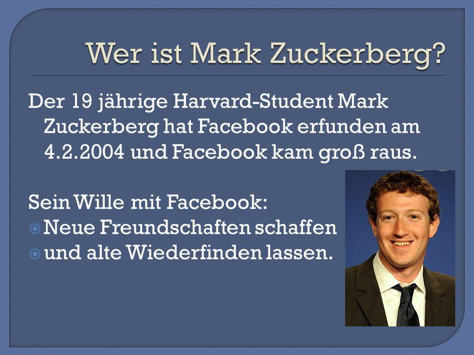 Was ist Facebook? Was sind seine Gefahren? Wer hat Facebook erfunden?