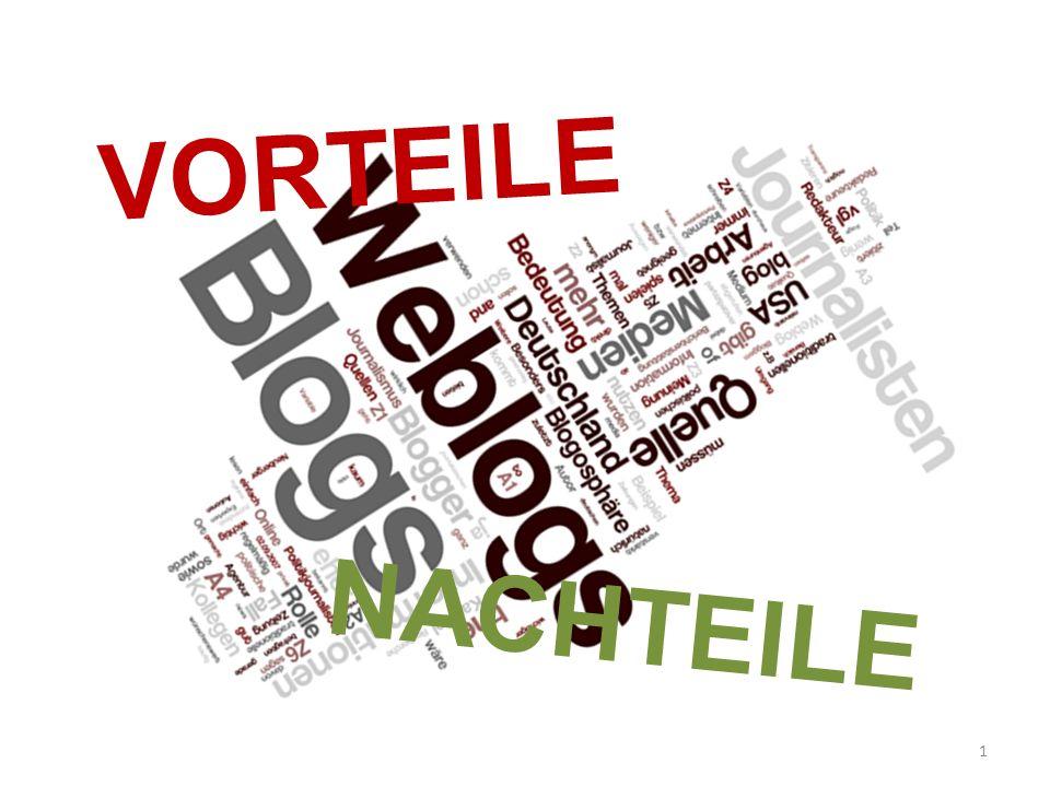 VORTEILE NACHTEILE 1