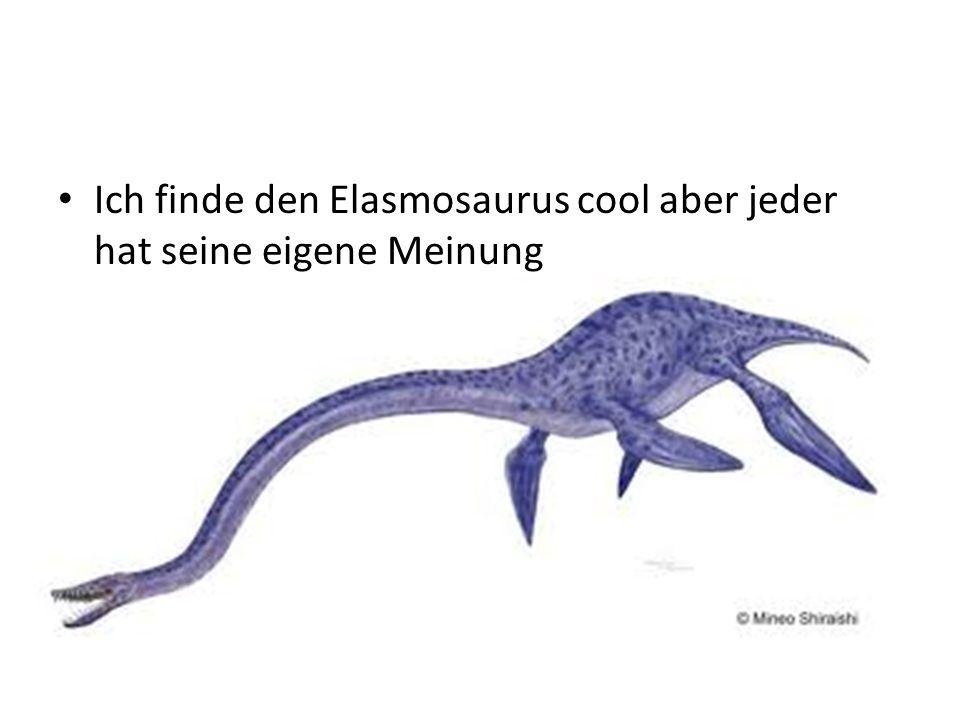 Wofür der Lange Hals ???? Der lange Halts diente Dafür dass der Elasmosaurus weit unten schwimmen konnte (dass ihn die fische nicht sehen) und dan aus
