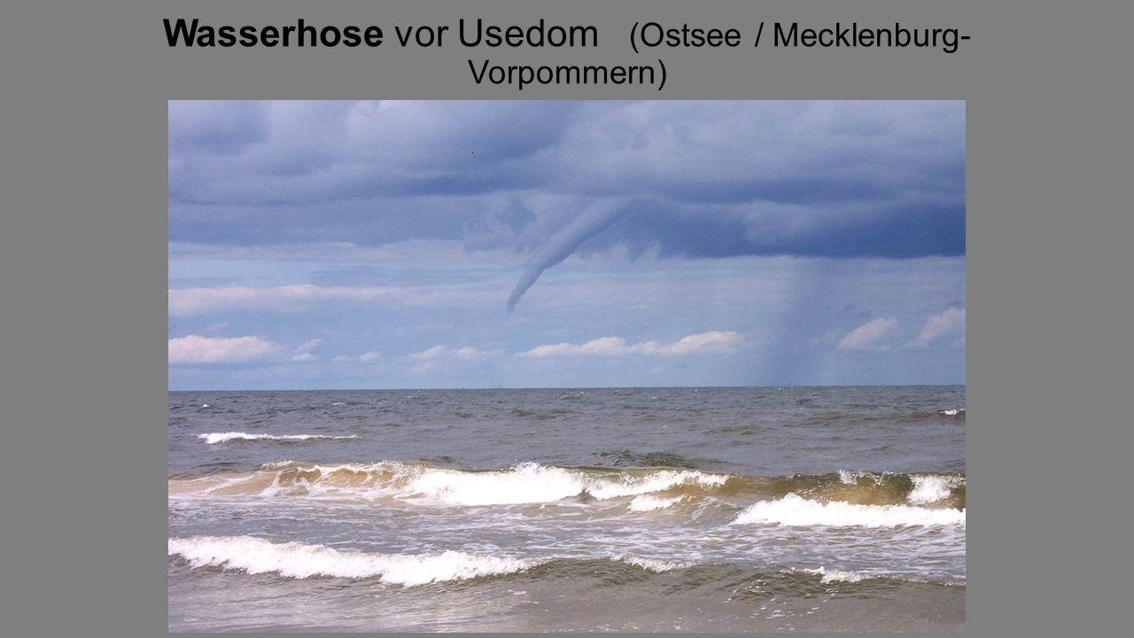 Wasserhose vor Usedom (Ostsee / Mecklenburg- Vorpommern)