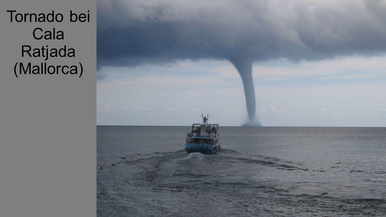 Tornado bei Cala Ratjada (Mallorca)