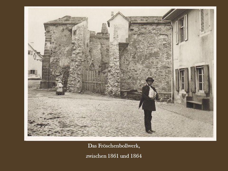Das Fröschenbollwerk, zwischen 1861 und 1864