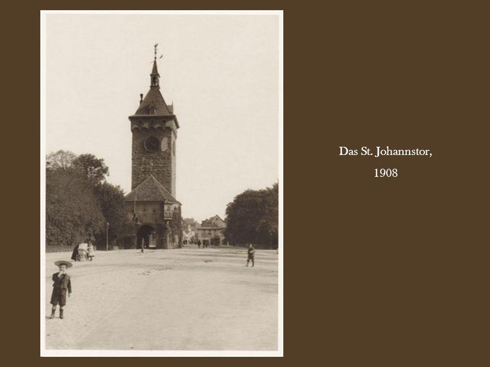 Das St. Johannstor, 1908