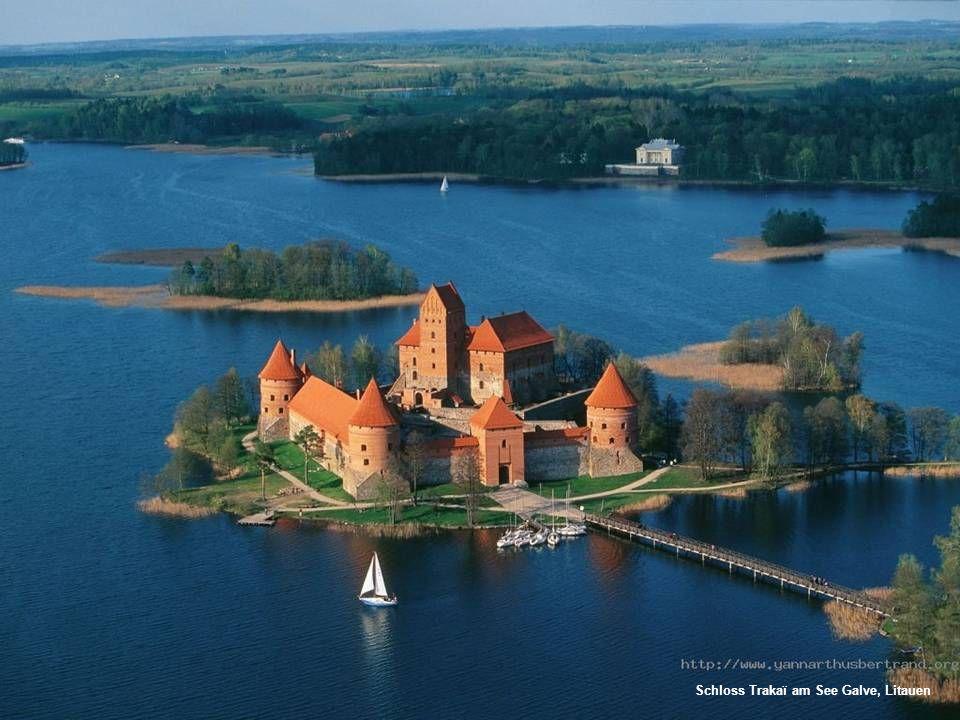 Schloss Trakaï am See Galve, Litauen