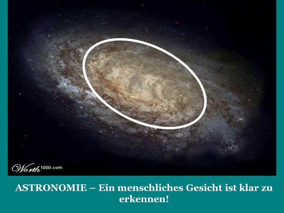 ASTRONOMIE – Ein menschliches Gesicht ist klar zu erkennen!