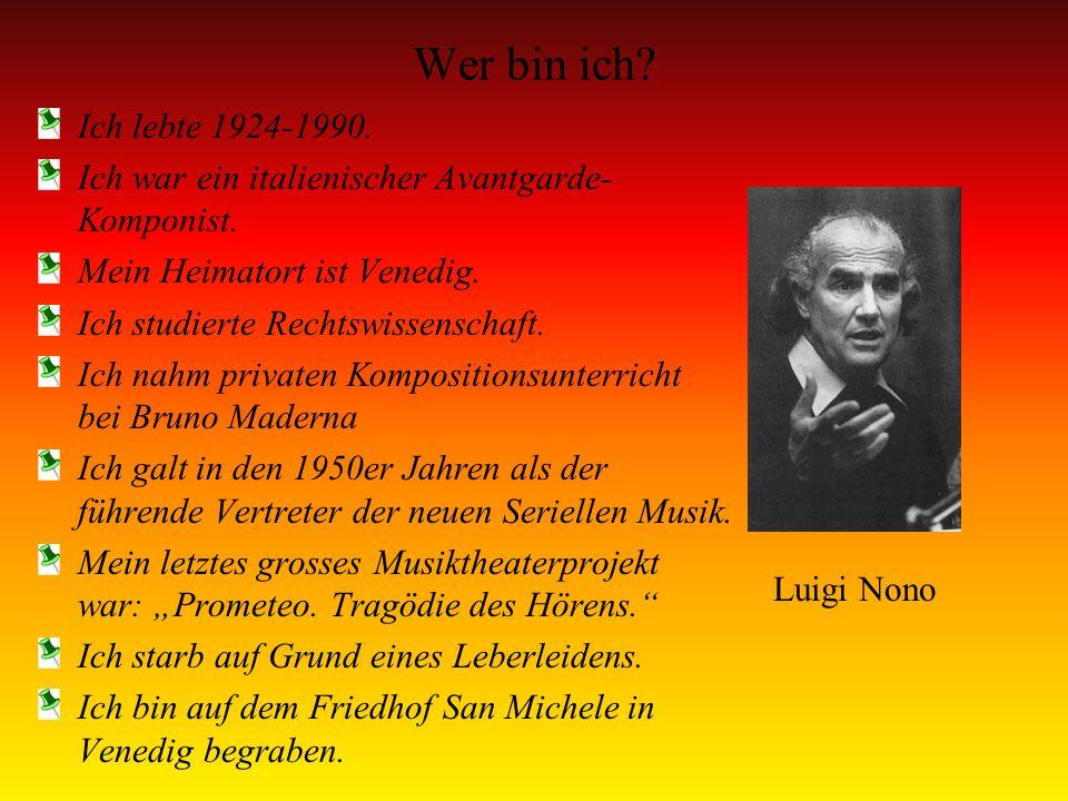 Wer bin ich? Ich war ein Komponist der Wiener Klassik Ich wurde am 27 Jan.1756 geboren und starb am 5 Dez. 1791 Mein Vater unterrichtete mich als Kind
