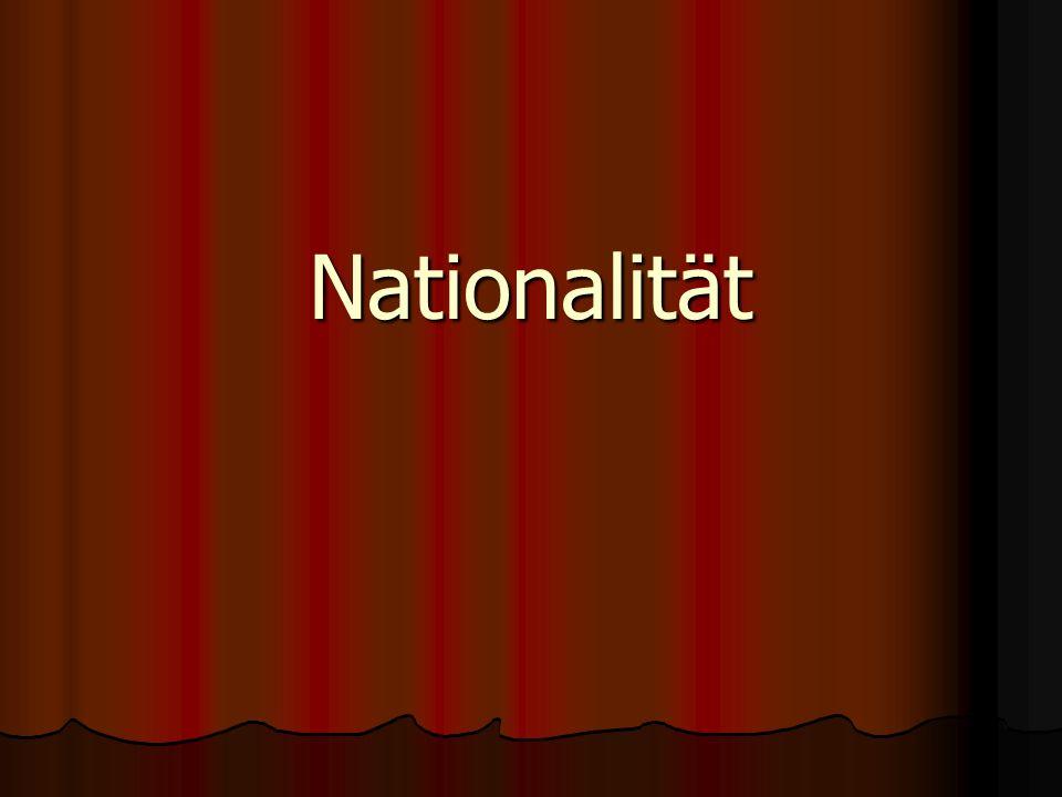 Nationalität