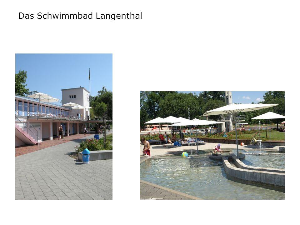 Das Schwimmbad Langenthal