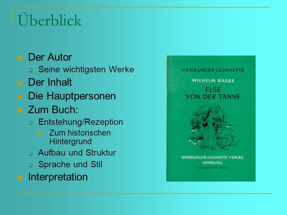 Wilhelm Raabe (1831 – 1910) So sehr mir das Leben entglitt, desto mehr wurde ich Dichter Neben Theodor Storm war er der bedeutendste Vertreter des poetischen Realismus innerhalb der deutschen Literatur des 19.