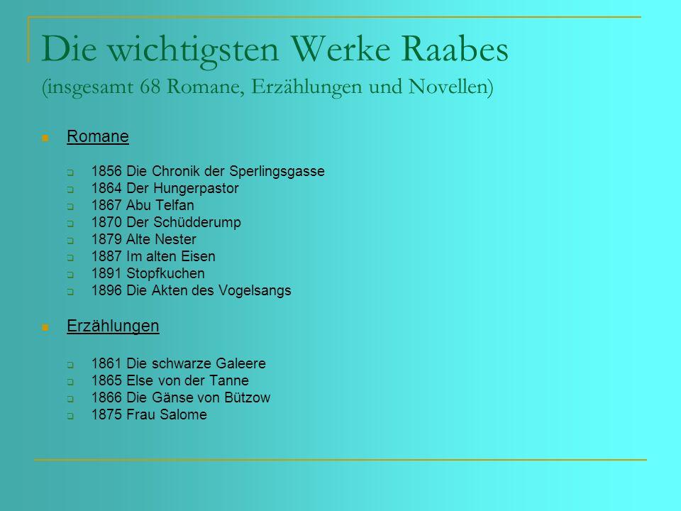 Der Inhalt In der Novelle wird von den Erinnerungen des Pfarrers Dominus Magister Friedemann Leutenbacher an die junge, der Hexerei beschuldigten Else zur Zeit des Dreißigjährigen Krieges im Jahr 1648 erzählt.