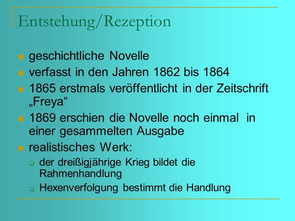 Zum historischen Hintergrund Der Dreißigjährige Krieg: 1618-1648, ein Religions-, Stände- und Staatenkonflikt, der in Deutschland und Böhmen ausgetragen wurde.