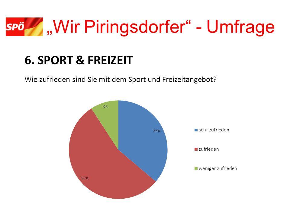 Wir Piringsdorfer - Umfrage 6.