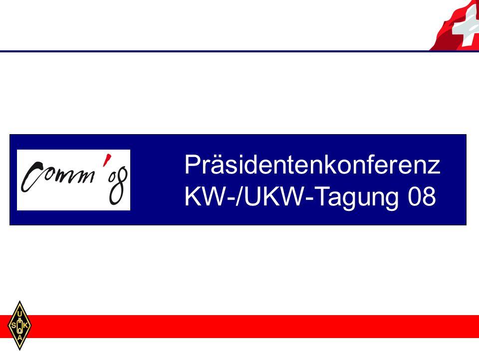 Präsidentenkonferenz KW-/UKW-Tagung 08