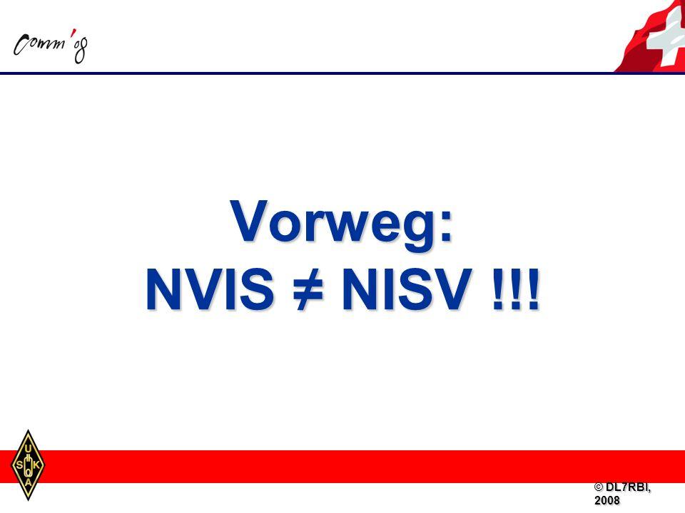 Viel Spass beim Experimentieren mit NVIS-Antennen! (z.B. beim nächsten NMD, H26,...) © DL7RBI, 2008