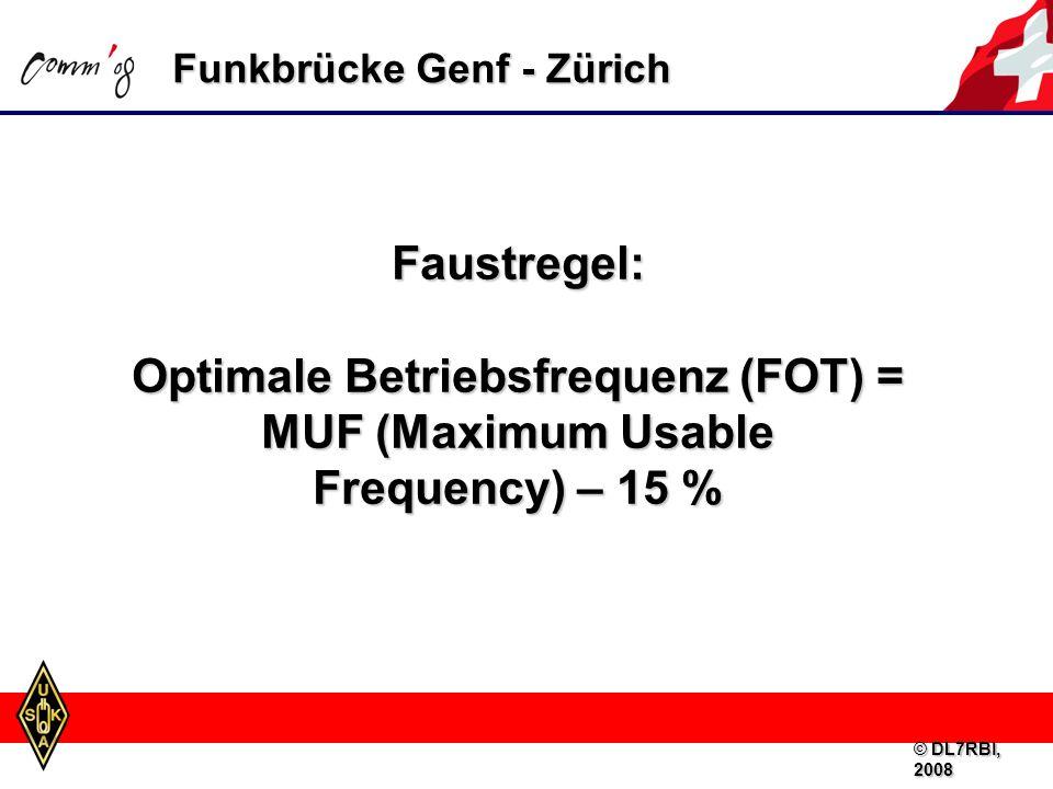 Notfunkbetrieb auf 3,5/7,0 MHz wegen hoher Signal-Dämpfung nicht ideal Mehrere Länder haben Frequenzen im 5-MHz-Bereich für technische Versuche, bzw.