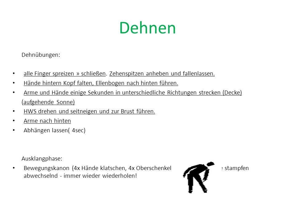 Dehnung DEHNUNG/Beweglichkeit = Nr.