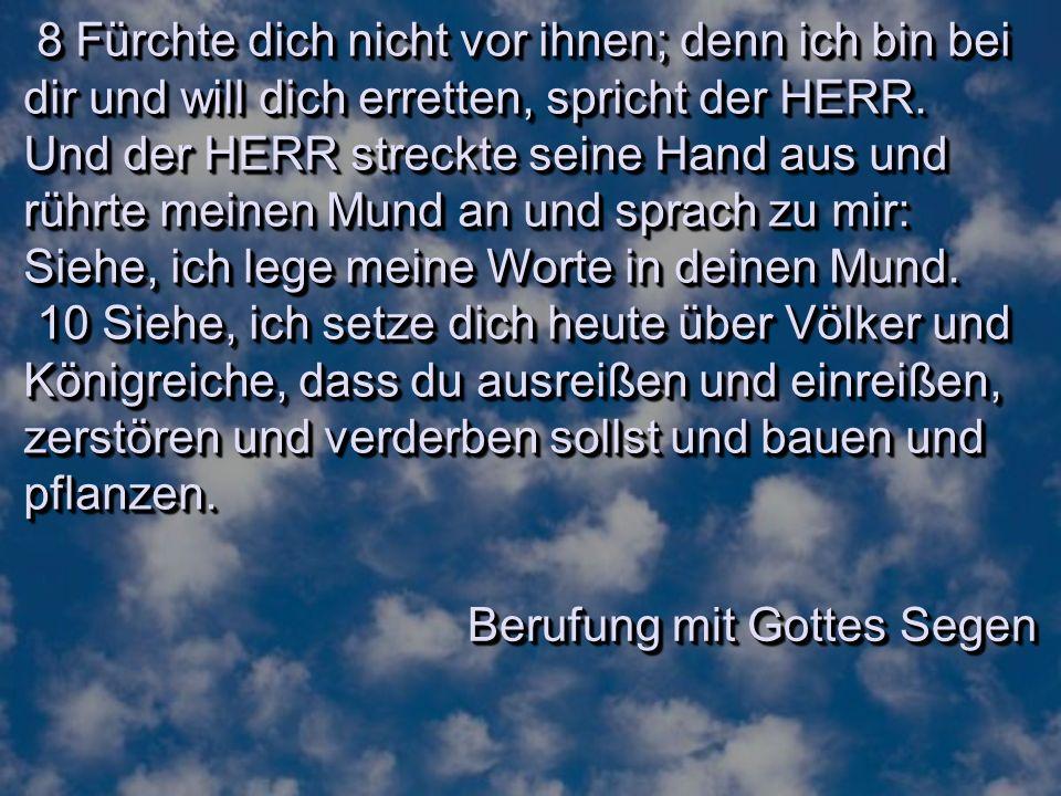 Jeremias Verwandtschaft (Kap.