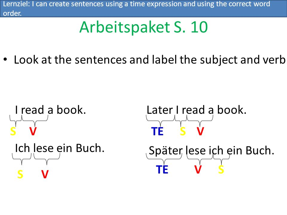 Shakespeare once wrote: Now go we in content in As you like it Now, this might sound a little odd to you, but this is how Germans speak.