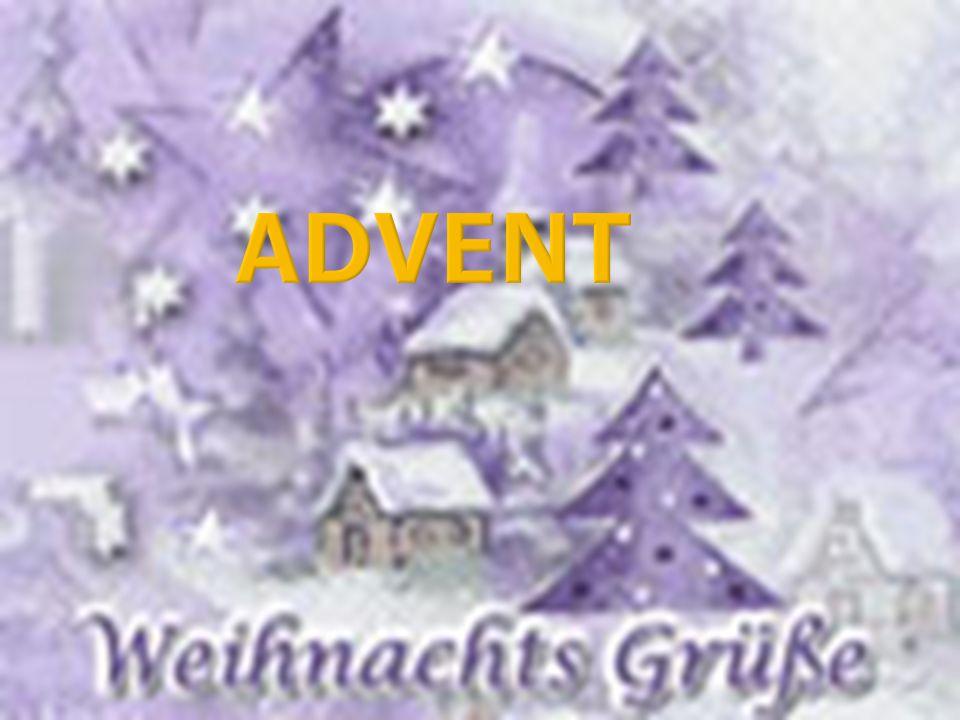 Vier Sonntage vor dem Weihnachten beginnt die Adventzeit.