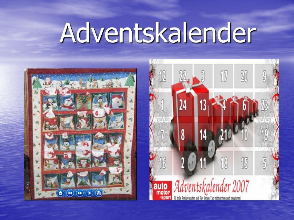 Adventskalender Adventskalender