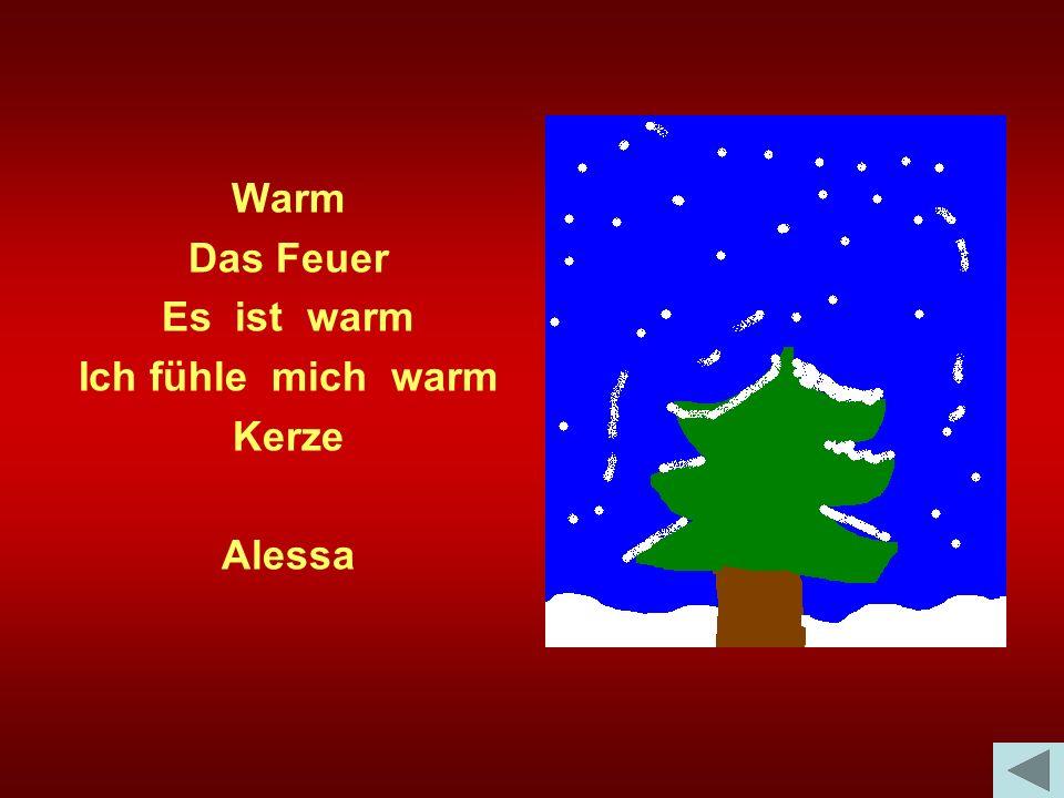 Warm Das Feuer Es ist warm Ich fühle mich warm Kerze Alessa