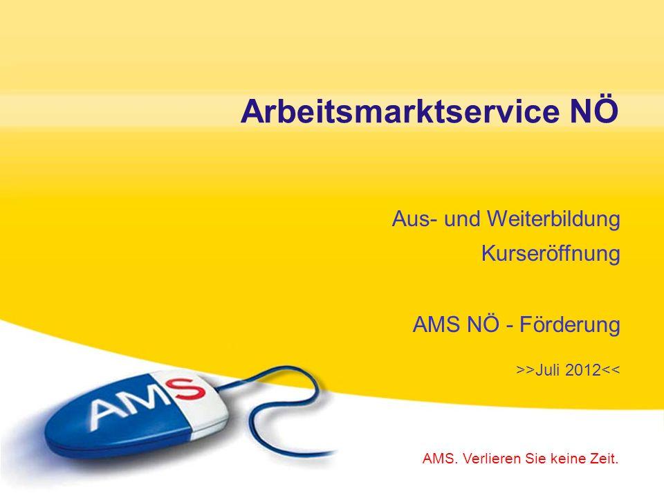 Der Besuch eines Folge-Kurses ist nur in Absprache mit Ihrem/r AMS-BeraterIn möglich.