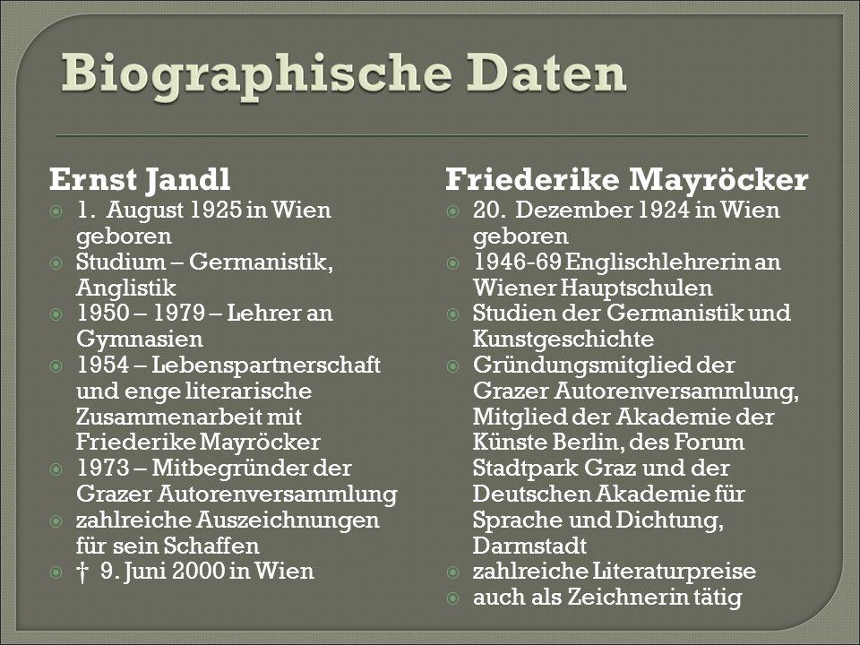 Ernst Jandl 1.