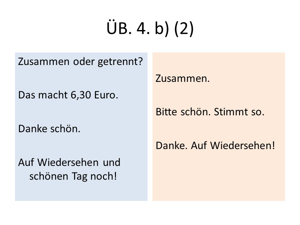 Lisää modaaliapuverbejä (dürfen, mögen, sollen ja wollen + wissen)(1) Wir können schon bestellen.
