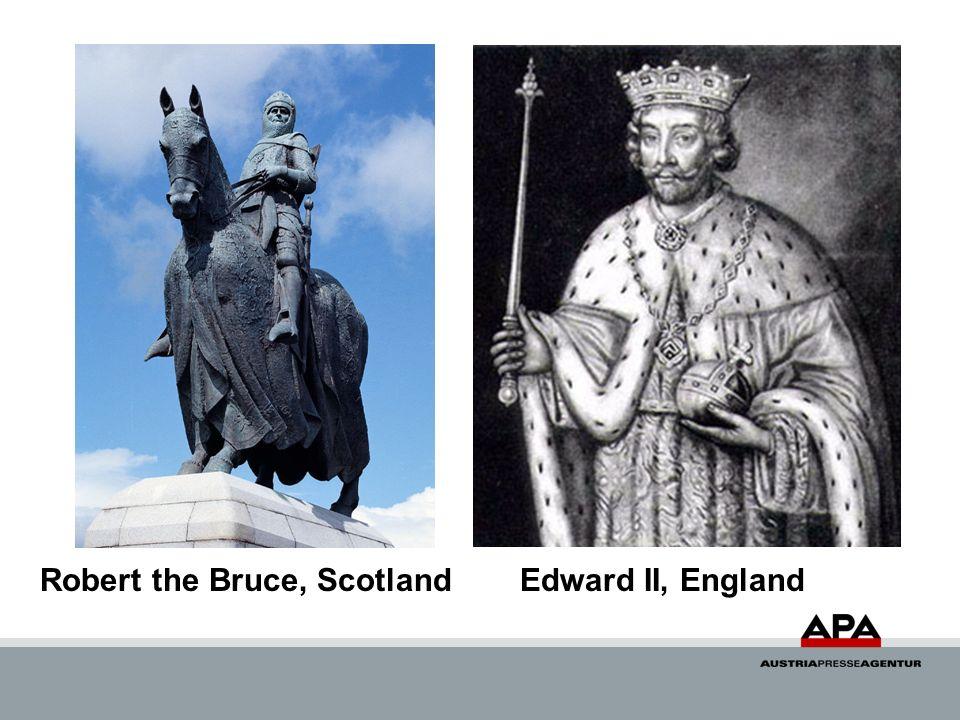 Robert the Bruce, ScotlandEdward II, England