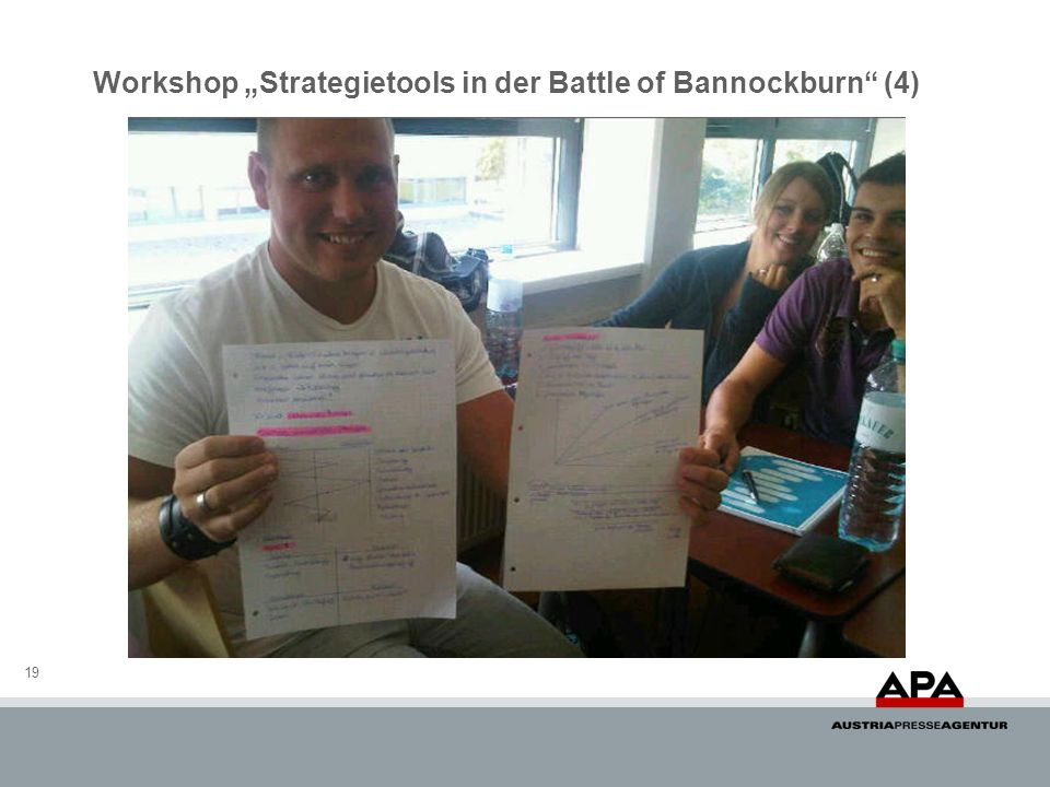 19 Workshop Strategietools in der Battle of Bannockburn (4)