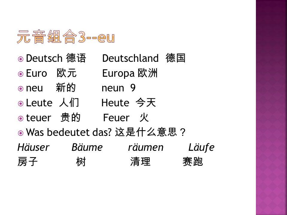 Deutsch Deutschland Euro Europa neu neun 9 Leute Heute teuer Feuer Was bedeutet das? Häuser Bäume räumen Läufe