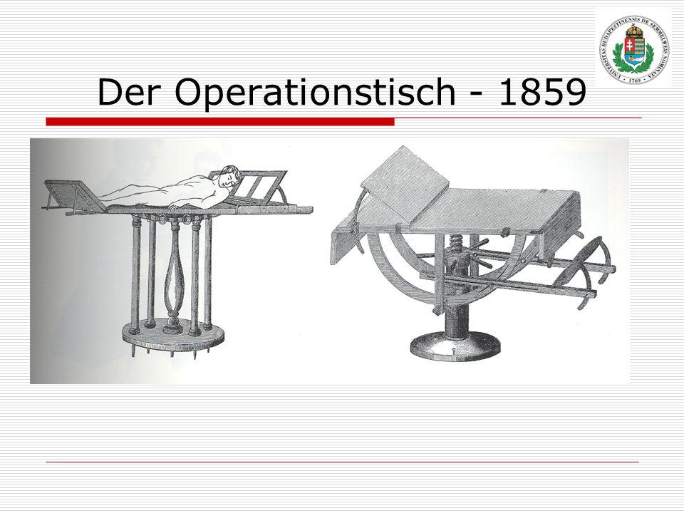 Der Operationstisch - 1859