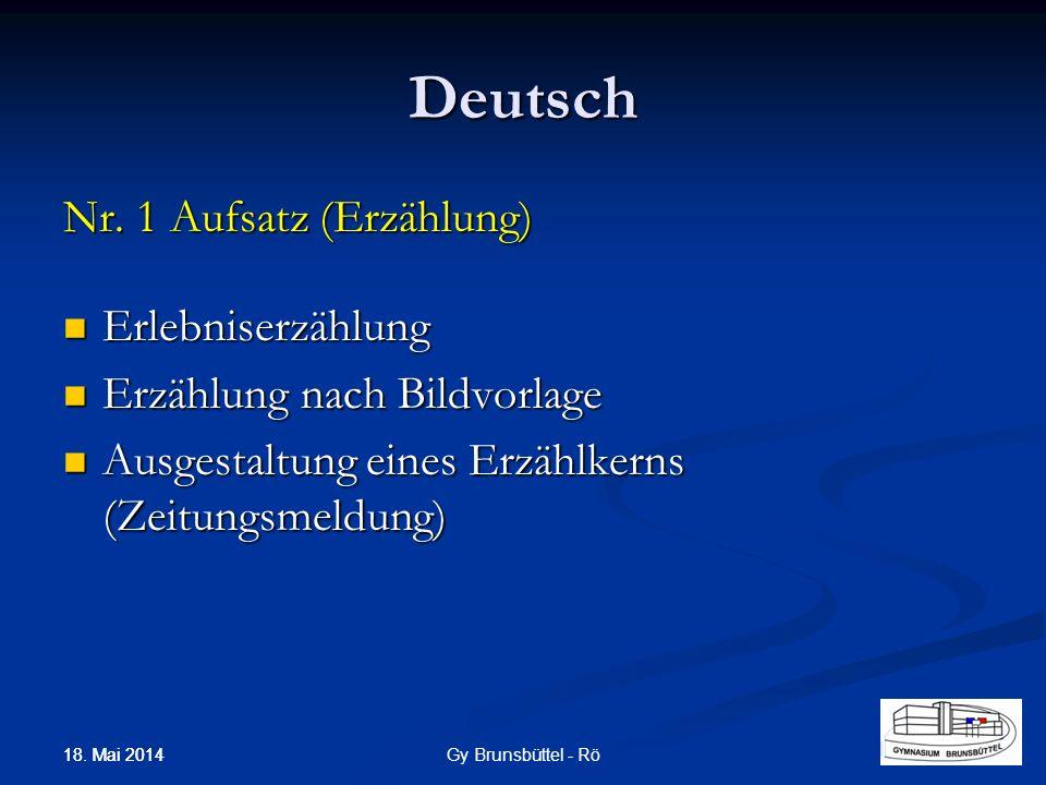 Deutsch Nr. 1 Aufsatz (Erzählung) Erlebniserzählung Erlebniserzählung Erzählung nach Bildvorlage Erzählung nach Bildvorlage Ausgestaltung eines Erzähl