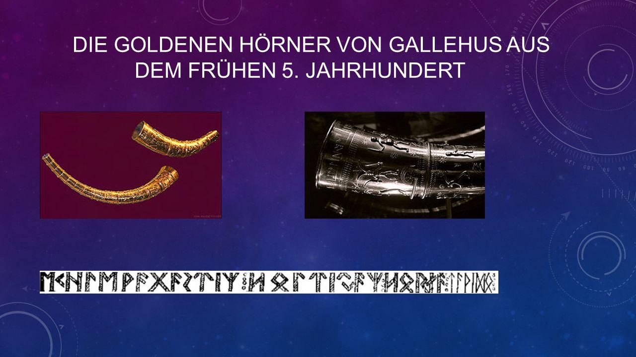 DIE GOLDENEN HÖRNER VON GALLEHUS AUS DEM FRÜHEN 5. JAHRHUNDERT