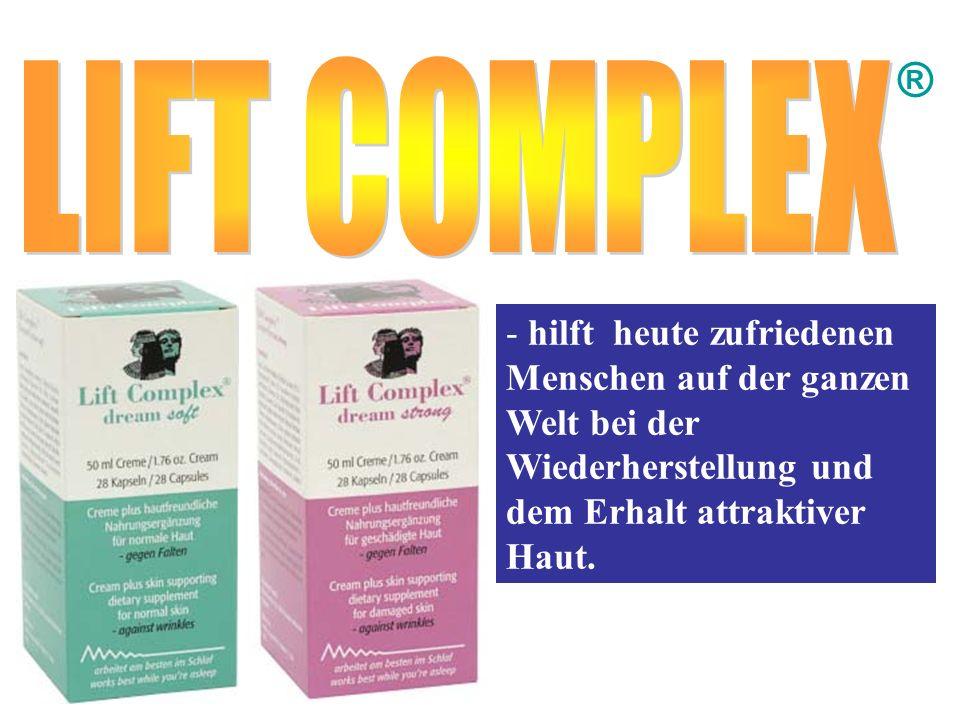 ® - hilft heute zufriedenen Menschen auf der ganzen Welt bei der Wiederherstellung und dem Erhalt attraktiver Haut.