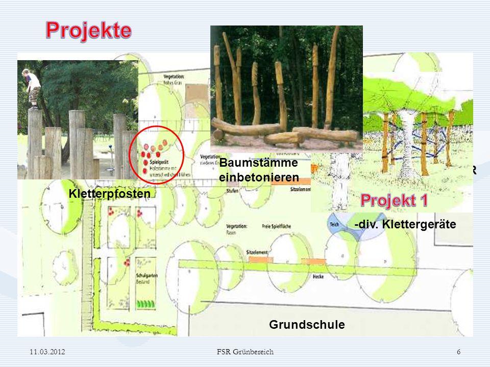 FSR Grundschule Hecke pflanzen 11.03.20127FSR Grünbereich