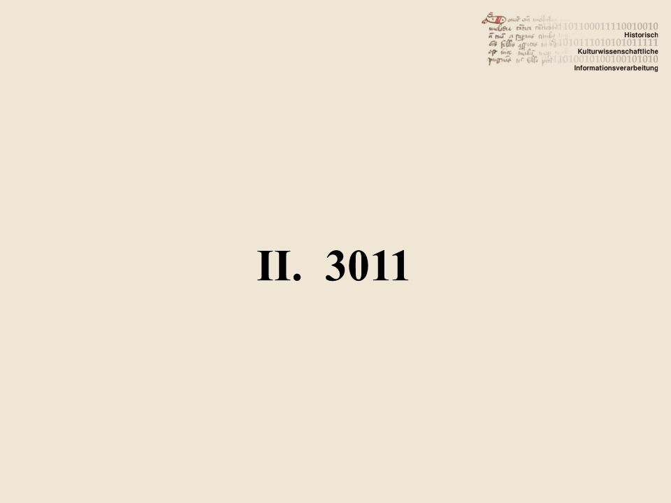 II. 3011