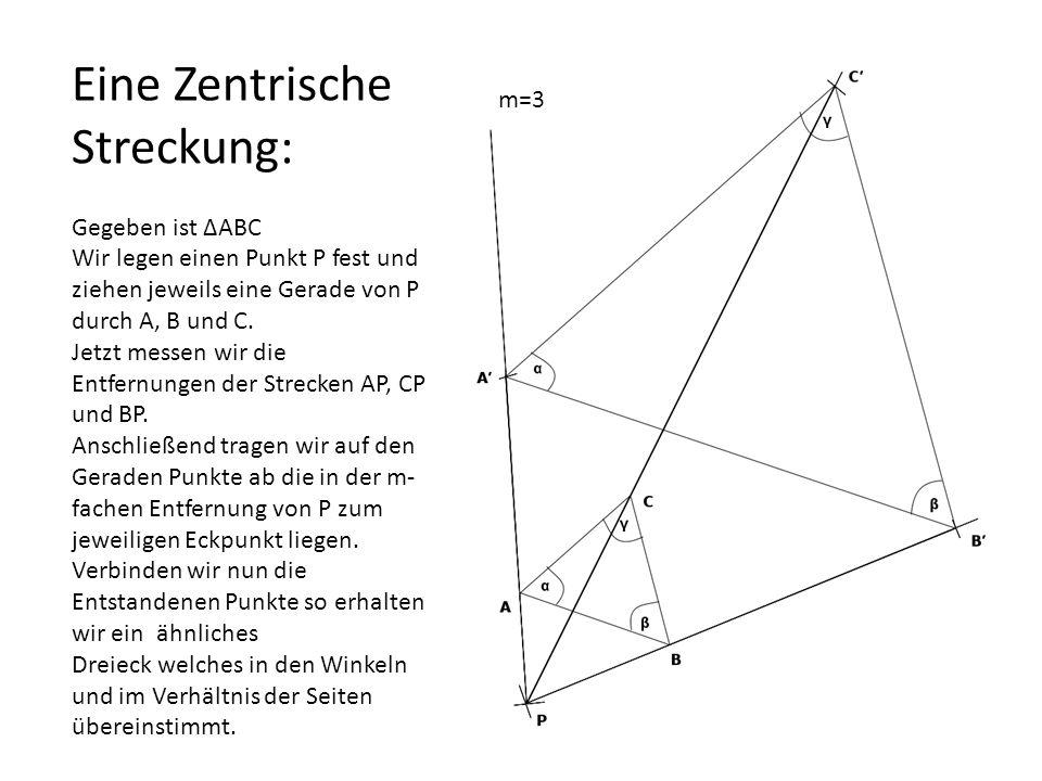 Ähnlichkeitssätze bei Dreiecken der Hauptsatz WWW SWS SSS Ssw