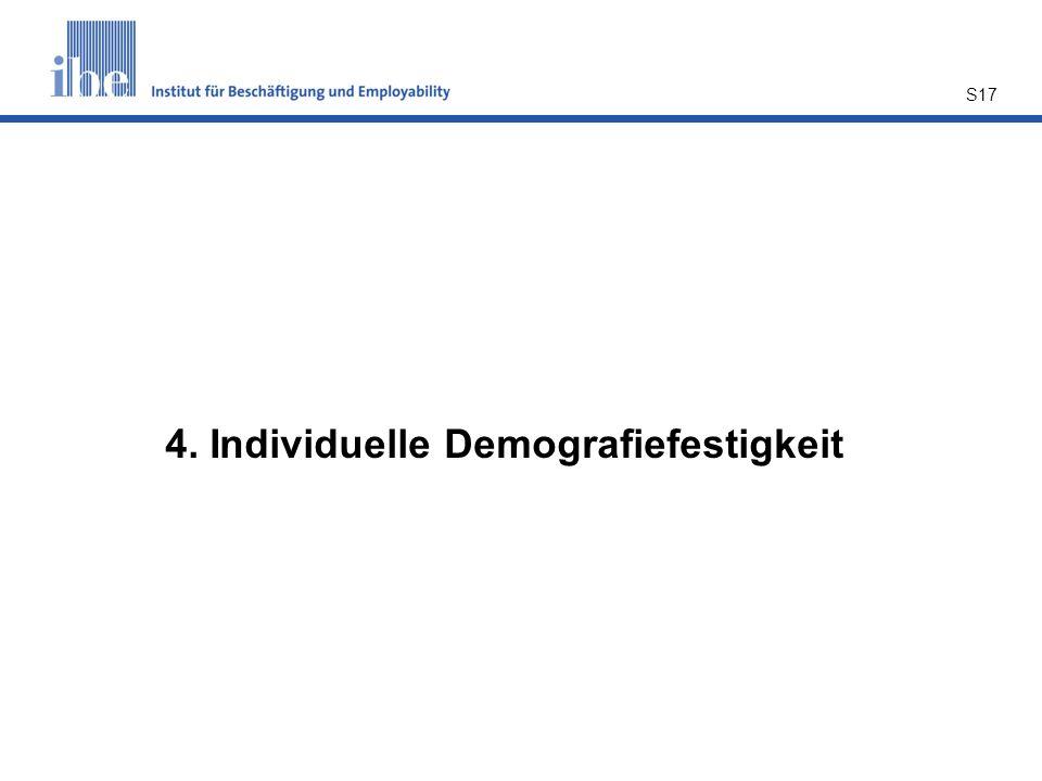 S17 4. Individuelle Demografiefestigkeit