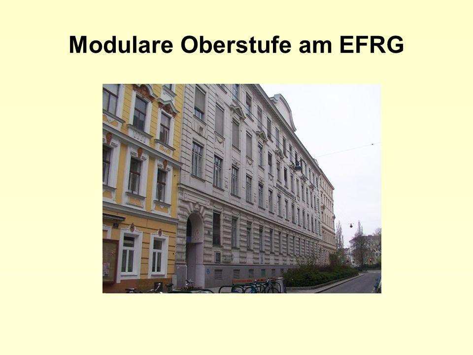 Modulare Oberstufe am EFRG