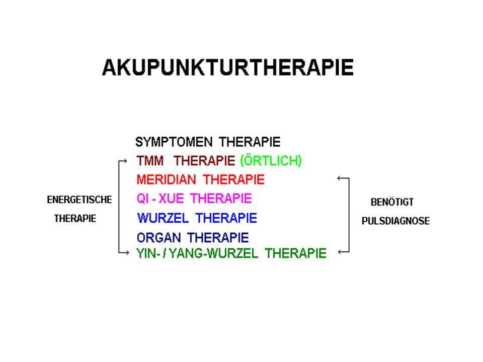NJ LS Kap.1 Vor der Akupunktur muß der Puls getastet werden, um den Zustand der Energie zu beurteilen.