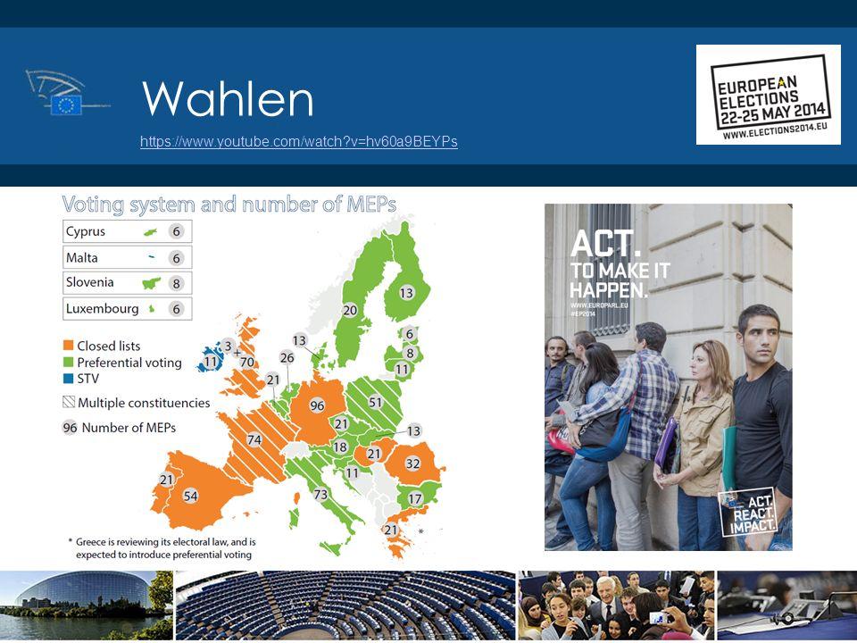 ©2014 Europäisches Parlament, Besucherdienst Wahlen https://www.youtube.com/watch?v=hv60a9BEYPs