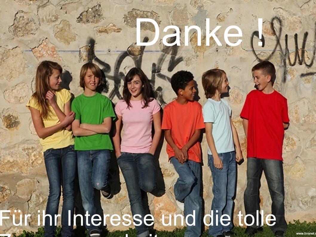 Danke ! Für ihr Interesse und die tolle Zusammenarbeit www.livenet.ch