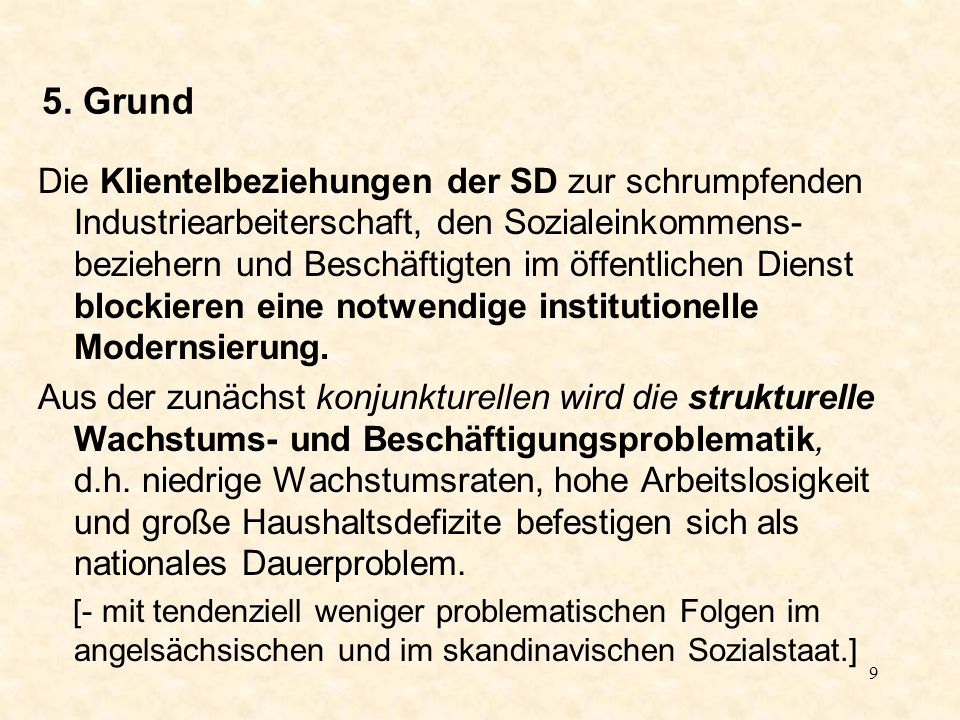 10 Konsequenzen für die SPD und das deutsche Parteiensystem – in 5 Punkten: