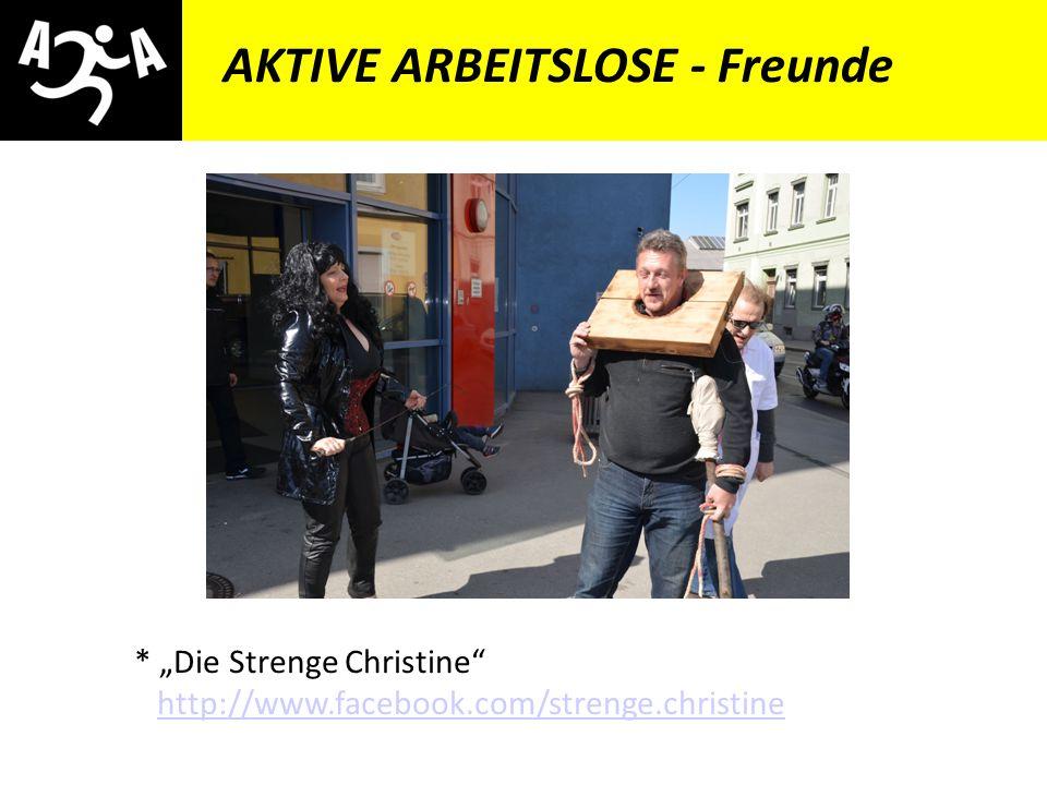 AIVG Novelle > verschlechtert AKTIVE ARBEITSLOSE - Freunde * Zwergenaufstand – Orange Alternative Österreich http://www.zwergenaufstand.at http://www.