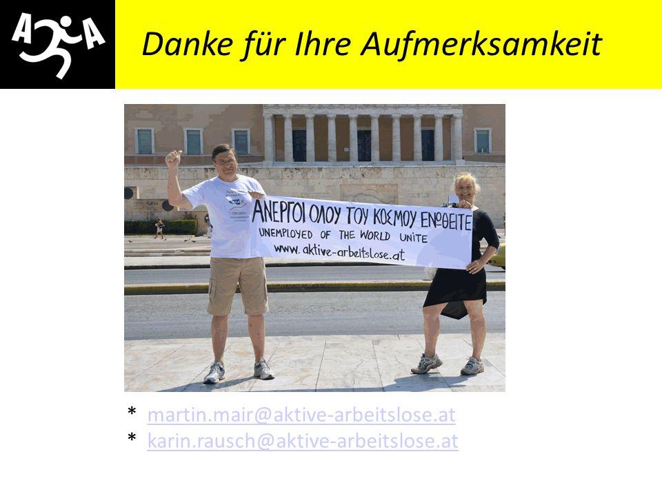 AIVG Novelle > verschlechtert Veranstaltungshinweis Soziale Grundrechte für alle!? Podiumsdiskussion 11.10.2012, 19.00 Uhr OBDS – Österr. Berufsverban