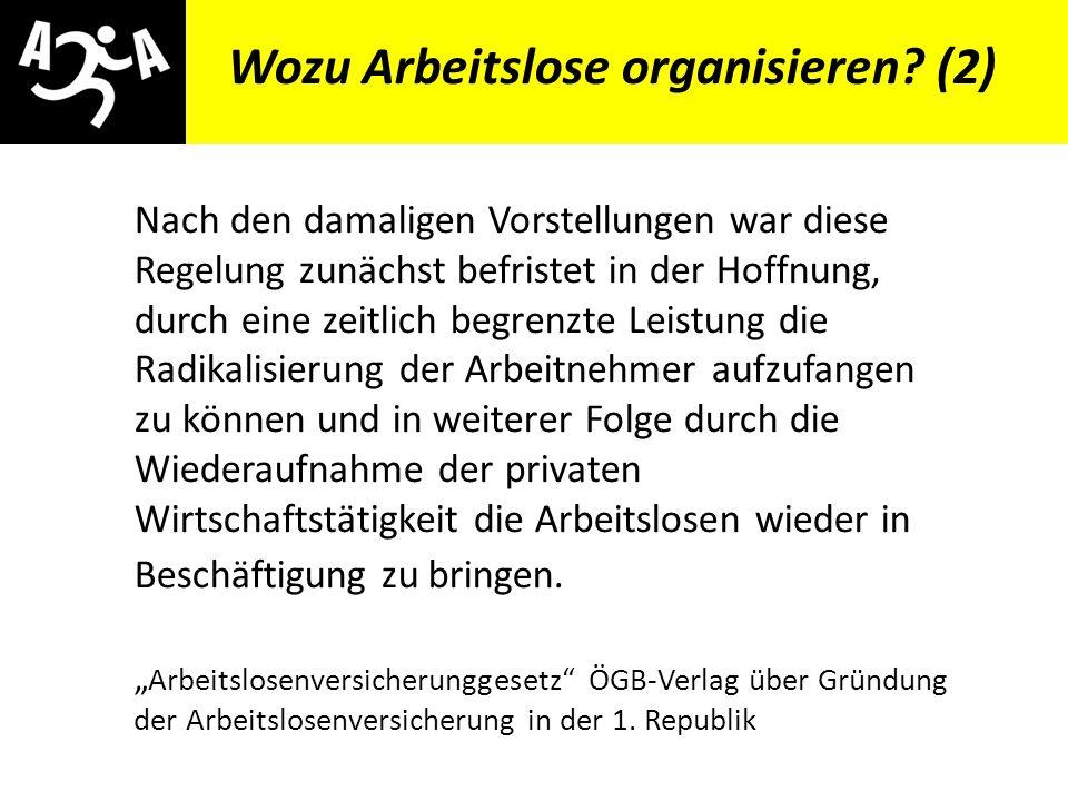AIVG Novelle > verschlechtert Veranstaltungshinweis Soziale Grundrechte für alle!.
