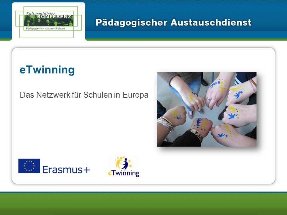 Informationsverans taltung 2/43 Über 200.000 Lehrkräfte aus Europa sind bei eTwinning dabei!