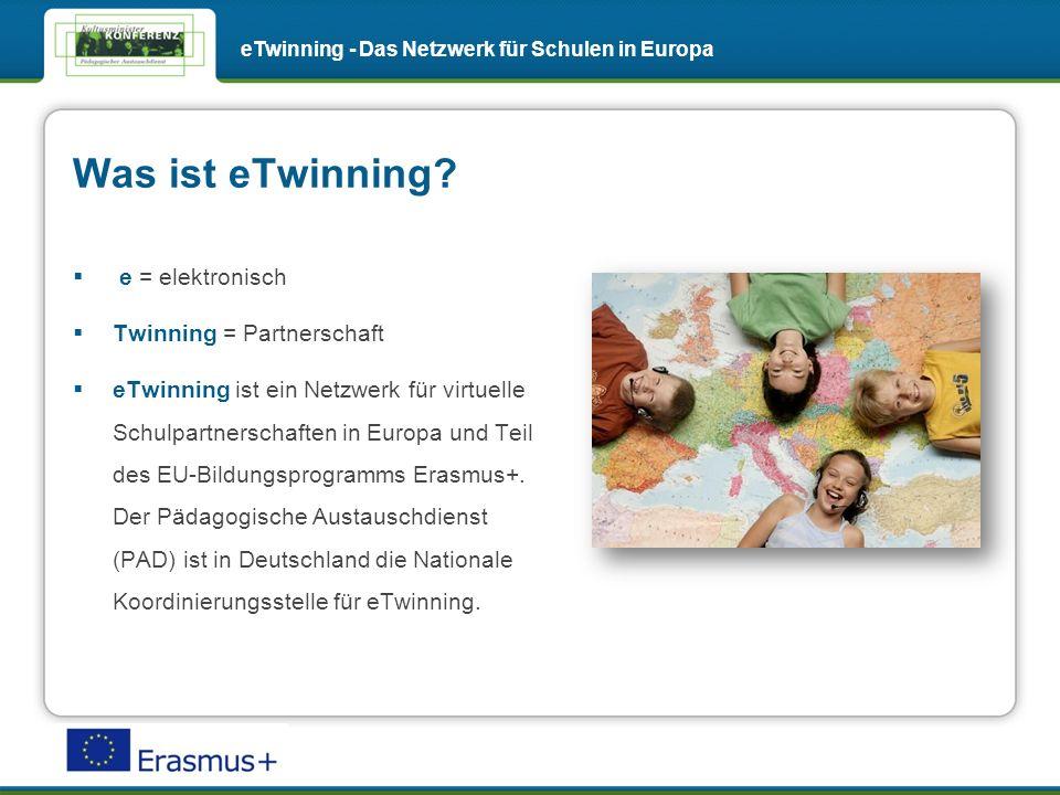 Inspirationen aus der Praxis nutzen eTwinning - Das Netzwerk für Schulen in Europa Erfahrungen anderer eTwinner als Inspiration für den Unterricht nutzen: Projektkits mit ausführlicher Verlaufsbeschreibung helfen Ihnen, Ideen für eigene eTwinning-Projekte zu entwickeln.