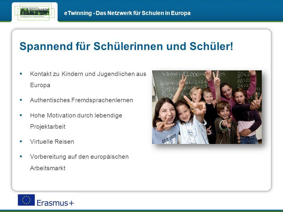 Fortbildungen eTwinning - Das Netzwerk für Schulen in Europa Online-Veranstaltungen und Fachgruppen zu aktuellen Themen unterstützen Sie bei Ihren Projekten.